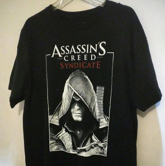 1a7ddb47 Assassin's Creed Ubisoft Inc. Shirts | Large Assassins Creed ...